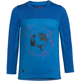 VAUDE Solaro LS T-Shirt II Kids, radiate blue